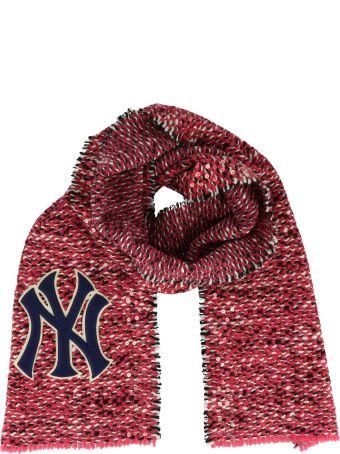 Gucci Ny Yankees Patch Scarf