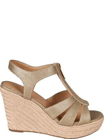 Michael Kors Berkley Wedge Sandals