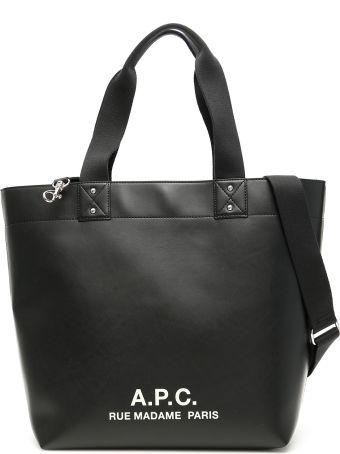 A.P.C. Eddy Logo Shopper