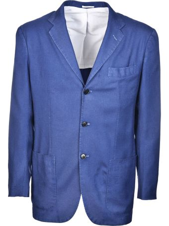 Kiton Single Breasted Jacket