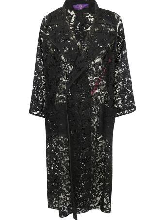 Y's Floral Lace Coat