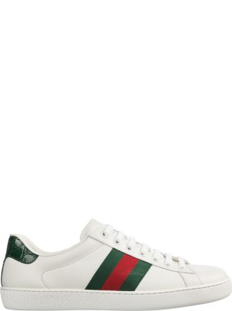 Gucci  Shoes Leather Trainers Sneakers Mirò Soft Nastro