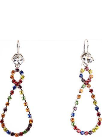 Miu Miu Earrings With Crystal