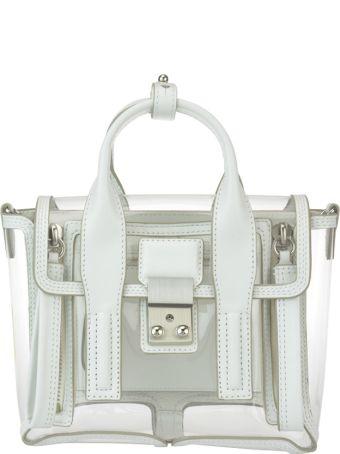 3.1 Phillip Lim Pashli Mini Transparent Satchel Bag