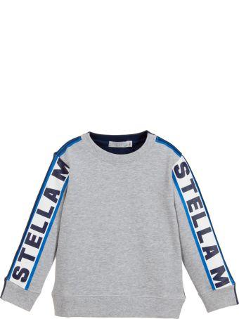 Stella McCartney Kids Gray Newborn Sweatshirt