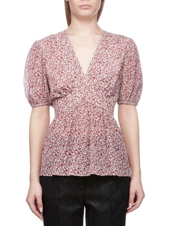 Tory Burch Floral Printed Blouse