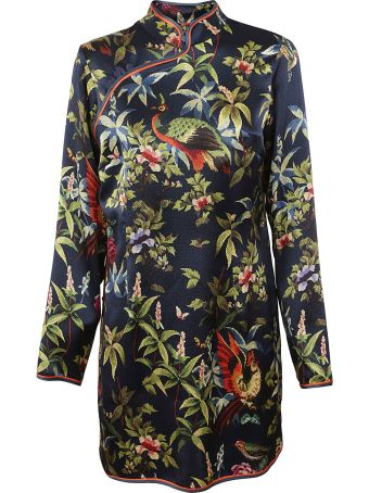 For Restless Sleepers Printed Dress