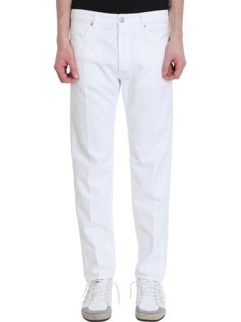 Golden Goose Free White Denim Jeans