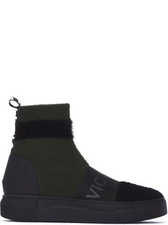 Vic Matié Mesh Socks With Sneakers Sole