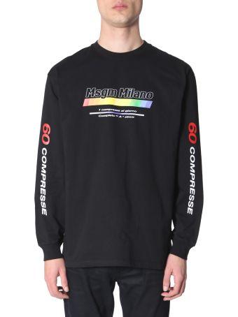MSGM Long Sleeve T-shirt
