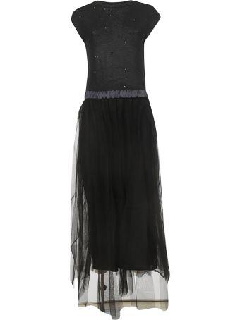 Peserico Tulle Long Dress