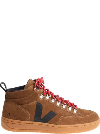 Veja Sneakers Suede Leather Roraima Bastille
