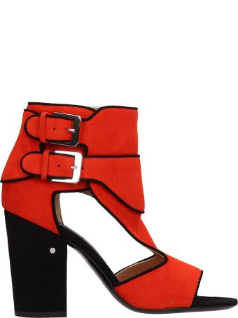 Laurence Dacade Rush Suede Leather Sandals