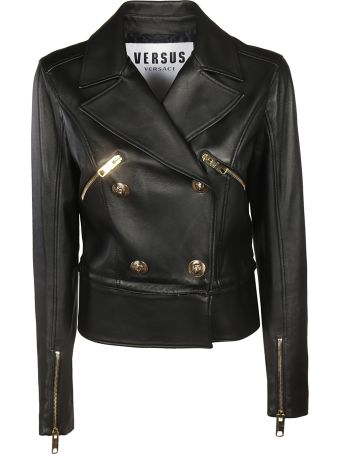 Versus Versace Classic Leather Jacket