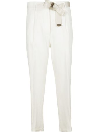 Peserico Elasticated-waist Trousers