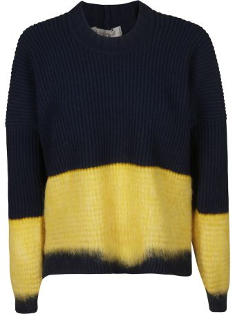 SportMax Striped Ribbed Sweater