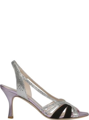 GIA COUTURE Diamante Slingback Sandals