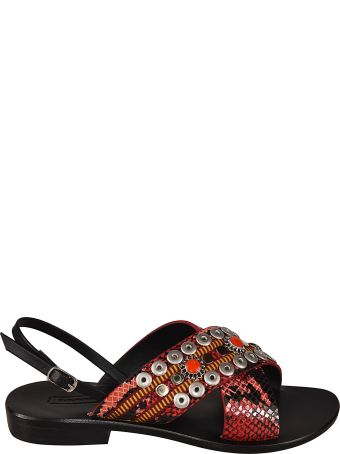 Nanni Studded Detail Sandals