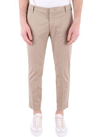 Entre Amis Entre Amis Stretch Cotton Trousers