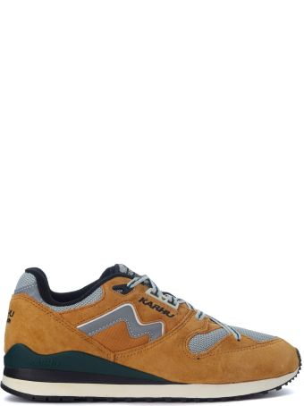 Karhu Synchron Classic Yellow Suede Sneakers