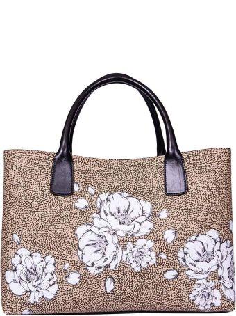 Borbonese Medium Graffiti Shopping Bag