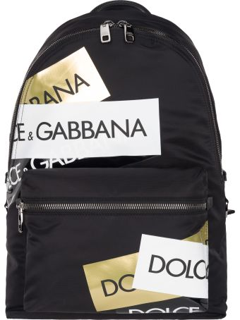 Dolce & Gabbana Dolce&gabbana Back Pack Tape Multi