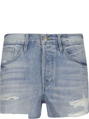 3x1 Faded Frayed Shorts