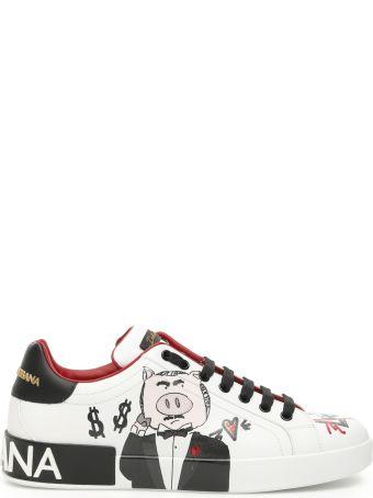 Dolce & Gabbana Portofino Padrino Pig Sneakers