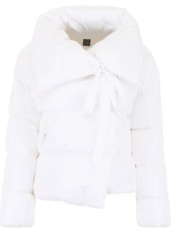 Bacon Clothing Puffer Jacket With Bow