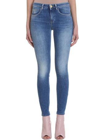 L'Autre Chose Blue Skinny Denim Jeans