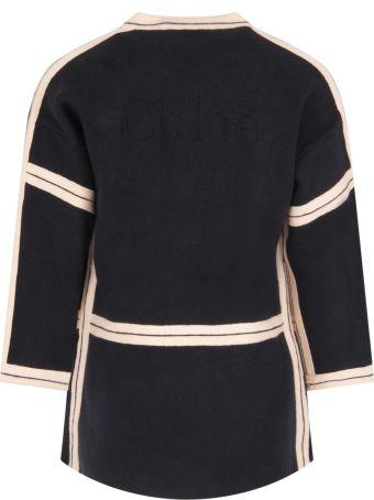 Chloé Blue Coat For Girl