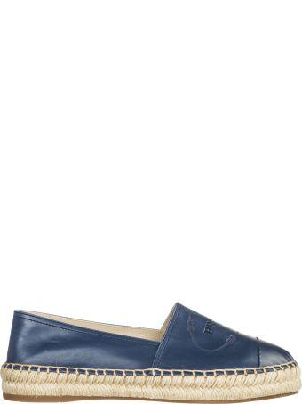 Prada  Espadrilles Slip On Shoes In Pelle