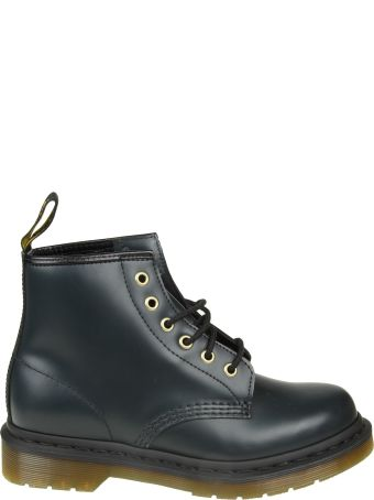 Dr. Martens Dr.martens Amphibio In Blue Night Leather