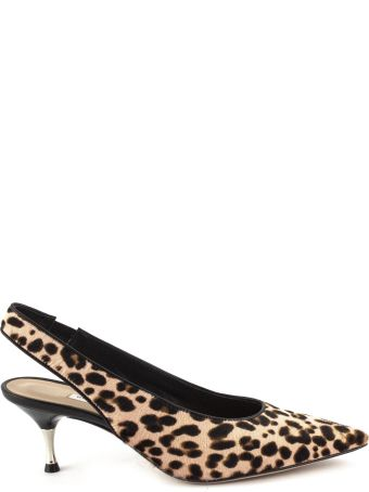 Roberto Festa Maculated Leather Tanzania Pumps