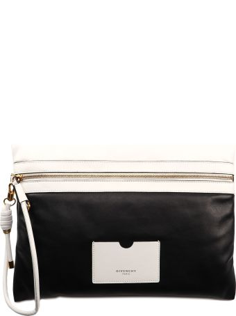 Givenchy Tag Zipped Clutch