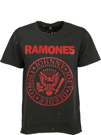 R13 Distressed Ramones T-shirt
