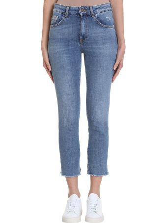 Mauro Grifoni Light Blue Denim Jeans
