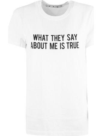 Off-White White Cotton T-shirt