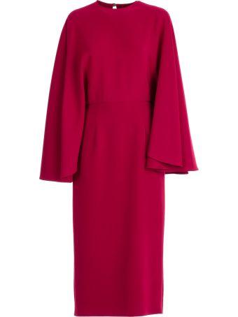 Sara Battaglia Cape Effect Dress