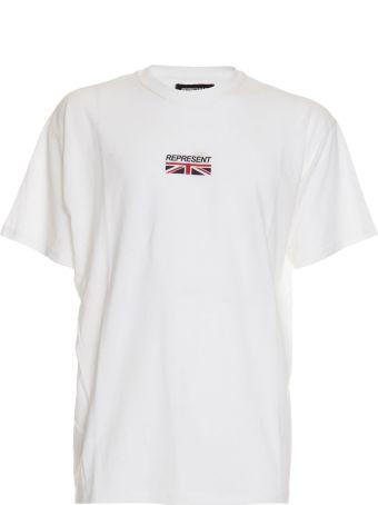 REPRESENT Oversized Logo Print T-shirt