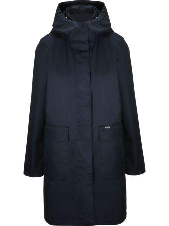 Woolrich Zipped Long Jacket