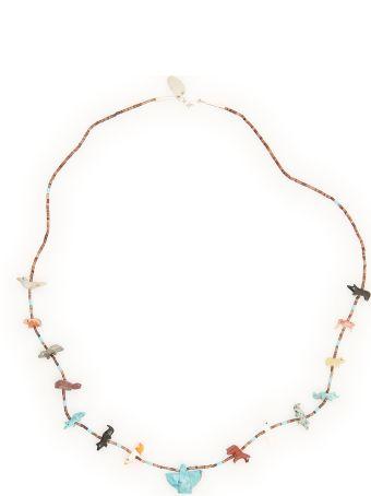 Jessie Western Necklace With Animals