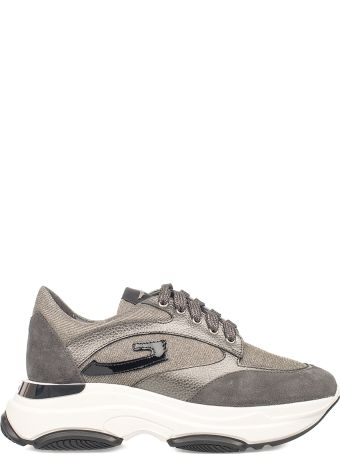 Alberto Guardiani Anthracite Sport Lady Vague Sneakers