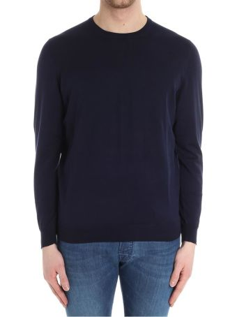 Drumohr Round Neck Cotton Cashmere