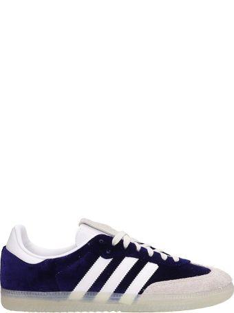 Adidas Purple Velvet Samba Og Sneakers