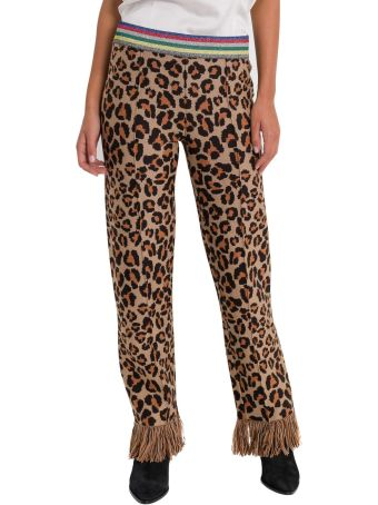 Alanui Animalier Relaxed Trousers