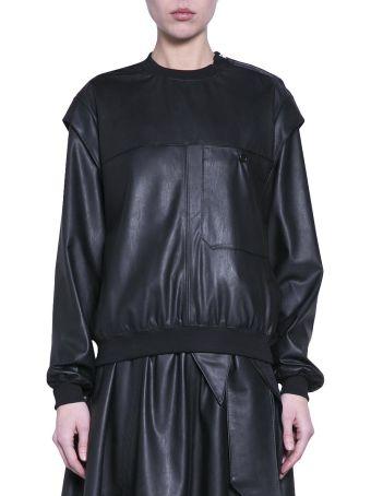Amen Eco-leather Sweater