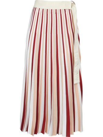 Moncler Genius High Waist Pleated Skirt