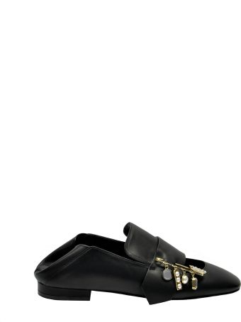 Coliac Cut-out Loafers