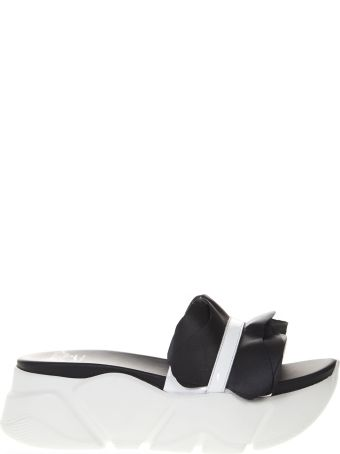 Voile Blanche Two Tone Pamela Leather Sandal